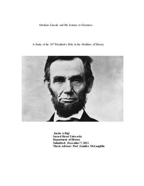 Thesis on abraham lincoln jpg 638x826